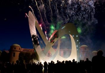 Goodwood 2012 Sculpture Unveiling and Fireworks